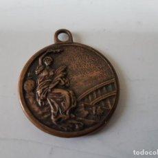 Medallas temáticas: MEDALLA A IDENTIFICAR DE METAL. Lote 184932678