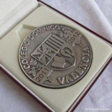 Medallas temáticas: MEDALLA COLEGIO DOMINICOS VALENCIA 2011-2012, EN ESTUCHE. Lote 186136970