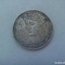 Medallas temáticas: ARRA DE PLATA COLECCION ¨ ARRAS DE SEVILLA ¨ : VIRGEN DE LA AMARGURA ( SEMANA SANTA ). Lote 186161557