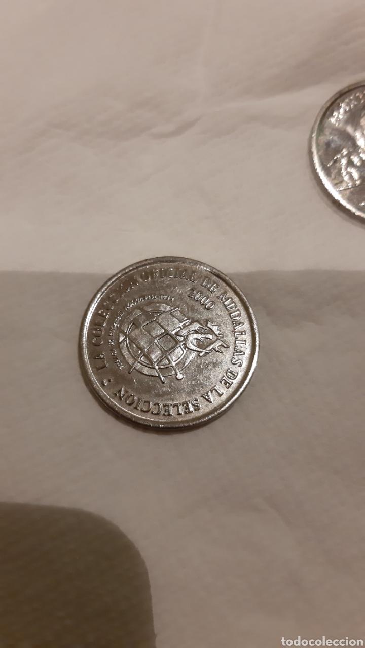Medallas temáticas: 5 monedas medallas seleccion española euro 2000 - Foto 2 - 186452741