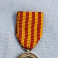 Medallas temáticas: MEDALLA REAL CLUB DE REGATAS BARCELONA - REGATAS NACIONALES AÑOS 30 DE PLATA. Lote 186464171