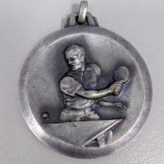Medallas temáticas: MEDALLA ANTIGUA CONMEMORATIVA CAMPANAR DE GRACIA TENIS DE MESA AÑO 1964 - AE90. Lote 187181508