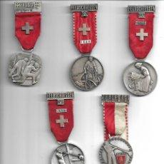 Medallas temáticas: ANTIGUAS MEDALLAS DE DISTINTOS OFICIOS RARAS. Lote 187386710