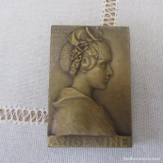 Medallas temáticas: MEDALLA ANGEVINE REPUBLIQUE FRANCAISE, BRONCE. Lote 189146712
