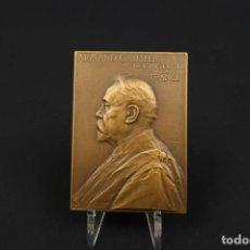 Medallas temáticas: ANTIGUA MEDALLA DE BRONCE ARMAND GAUTIER FRANCIA AÑO 1911. Lote 189436471