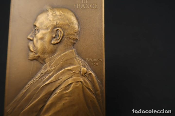 Medallas temáticas: Antigua Medalla de Bronce Armand Gautier Francia Año 1911 - Foto 3 - 189436471