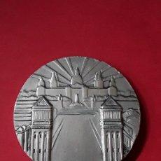 Médailles thématiques: MEDALLA PLATA I CONGRESO INTERNACIONAL DE FILATELIA.BARCELONA.1960.CFN.. Lote 135103630