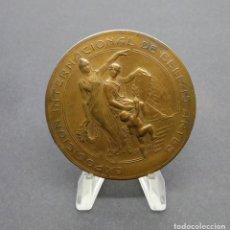 Medallas temáticas: EXPOSICIÓN INTERNACIONAL DE BELLAS ARTES.- 18 SEPTIEMBRE 1910. CENTENARIO CHILE 1810.. Lote 190390112