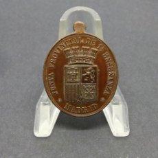Medallas temáticas: MADRID.- JUNTA PROVINCIAL DE 1ª ENSEÑANZA. PREMIO AL MAGISTRADO. I REPÚBLICA ESPAÑOLA.. Lote 190390472