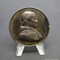 Medallas temáticas: PIO IX. 1860. MASSONNET EDITEUR.. Lote 190391118