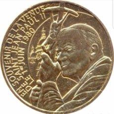 Medallas temáticas: MEDALLA JUAN PABLO II SAGRADO CORAZÓN DE PARIS. Lote 190489883