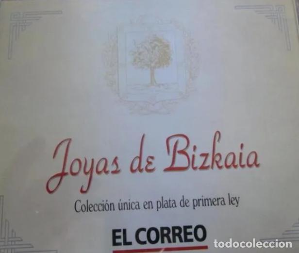 Medallas temáticas: JOYAS DE BIZKAIA MEDALLAS MONEDAS PLATA LEY 925 COMPLETA CON CAJA ESTUCHE RARAS!! PARA COLECCIÓN!!!! - Foto 2 - 190494335