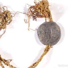 Medallas temáticas: SELLO PLOMO BULA PAPAL. PAPA JULIO III. IVLIVS III. 1550 - 1555.. Lote 190777245