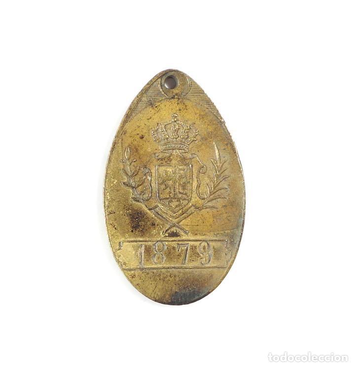 MADRID.- ARBITRIO SOBRE LOS PERROS. 1904. (Numismática - Medallería - Temática)