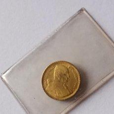 Medallas temáticas: PEQUEÑA MEDALLA PAPA JUAN XXIII ORO 9 KT. Lote 191441483