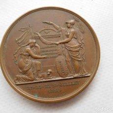 Medallas temáticas: MEDALLA FRANCESA ANTIGUA PATRIOTICA. Lote 191713507