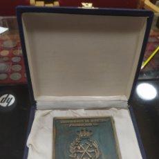 Medallas temáticas: C.R. MEDALLA INGENIERO DE MONTES PROMOCION CII BARCELONA 1999. Lote 192137095