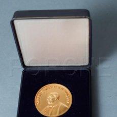 Medallas temáticas: JUAN PABLO II - (JOANNES) IOANNES PAULUS II P.M.ANNO XIV - PABELLÓN SANTA SEDE SEVILLA 1992 -. Lote 192664517