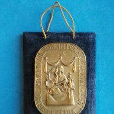 Medallas temáticas: PRIMERA EXPOSICION INTERNACIONAL DE ARTESANIA 1953. MEDALLA DE HONOR. ENVIO CERTIFICADO INCLUIDO.. Lote 192725840