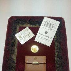 Médailles thématiques: MEDALLA DE LA CIUDAD DE MADRID. ORO 22 QTS. CERTIFICADO DE GARANTÍA Y ESTUCHE. 10,5 G. APROX.. Lote 193792851