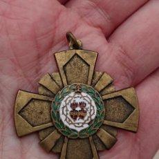Médailles thématiques: CRUZ COLEGIO SAGRADOS CORAZONES DE MADRID. Lote 194090690