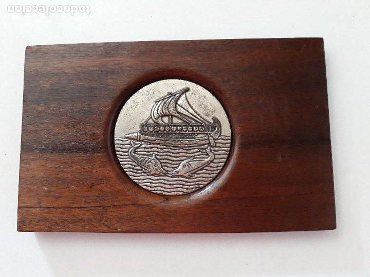 MEDALLA. IV SEMANA INTERNACIONAL DE CINE NAVAL- CARTAGENA 1975. (Numismática - Medallería - Temática)