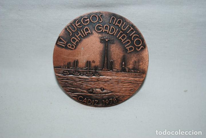 JUEGOS NAUTICOS DE LA BAHIA GADITANA (Numismática - Medallería - Temática)