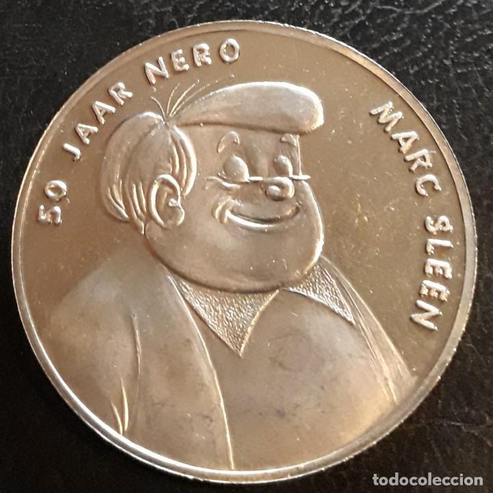 MEDALLA 50 ANIVERSARIO NERO-MARC SLEEN- COMIC-HISTORIETA AVENTURA (Numismática - Medallería - Temática)