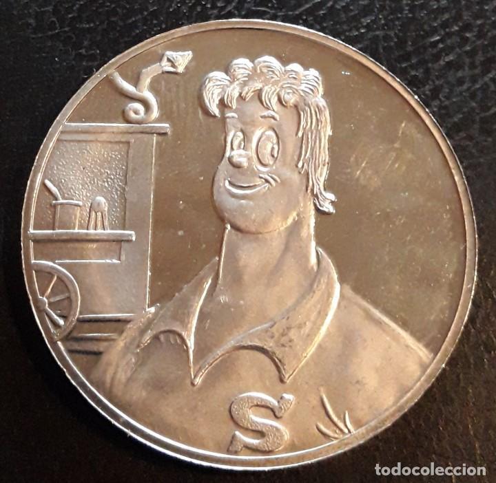 Medallas temáticas: MEDALLA 50 ANIVERSARIO NERO-MARC SLEEN- COMIC-HISTORIETA AVENTURA - Foto 2 - 194331312