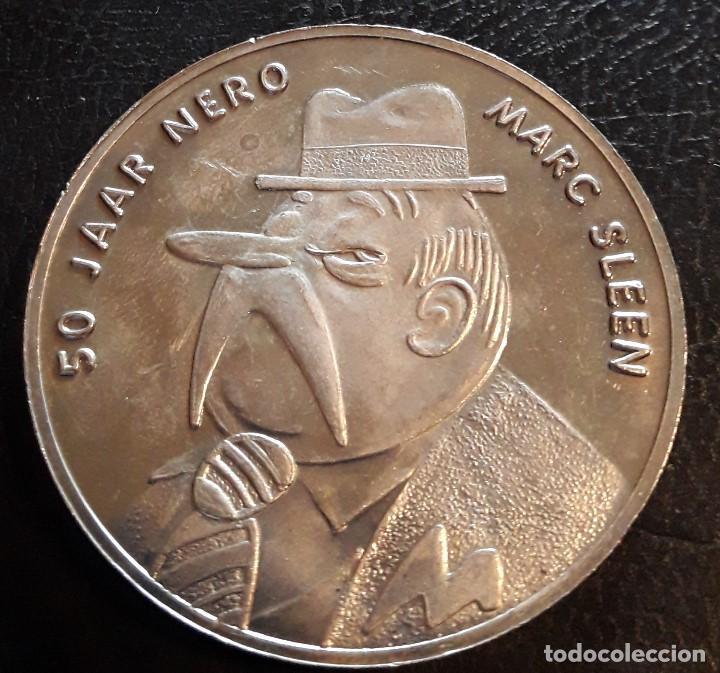 NERO DE MARC SLEEN- COMIC- MEDALLA 50 ANIVERSARIO - HISTORIETA DE AVENTURA (Numismática - Medallería - Temática)
