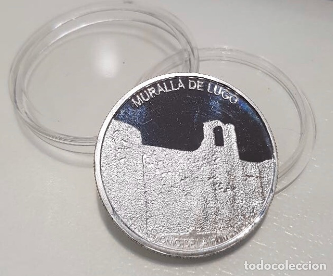 Medallas temáticas: Moneda Catedral y Muralla de Lugo - Foto 2 - 194348896