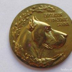 Medallas temáticas: MEDALLLA PREMIO CANINO , ESPAÑA . 40 GRAMOS/49,5 MM. Lote 194371146