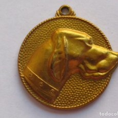 Medallas temáticas: VIII EXPOSICION CANINA LORA-BARI , PORTUGALETE , 1973 . 20,30 GRAMOS/34 MM. Lote 194374541