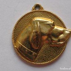 Medallas temáticas: IX EXPOSICION CANINA LORA-BARI , PORTUGALETE , 1974 . 21,8 GRAMOS/34 MM. Lote 194376332