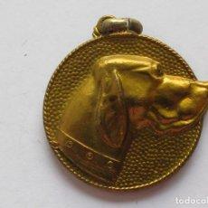 Medallas temáticas: MEDALLA CANINA LORA - BARI . PORTUGALETE . 25,50 GRAMOS/34 MM. Lote 194376756