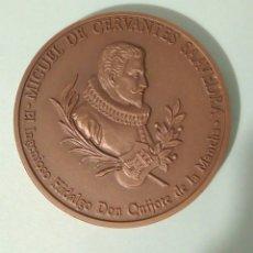 Medallas temáticas: MEDALLA DE CERVANTES. Lote 194637796