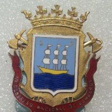 Medallas temáticas: MEDALLA ESMALTES 1963. III CONGRESO NACIONAL DE BOMBEROS. SAN SEBASTIÁN. EXTRAORDINARIA. . Lote 194691175
