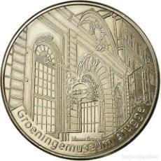 Medallas temáticas: BÉLGICA, TOKEN, BRUGES - MUSÉE GROENINGE, COLLECTIONS COIN, EBC, CUPRONÍQUEL. Lote 194708477