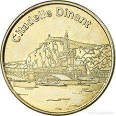 Medallas temáticas: BÉLGICA, TOKEN, JETÓN TURÍSTICO, DINANT - CITADELLE, ARTS & CULTURE. Lote 194732528