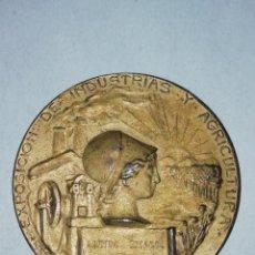 Medallas temáticas: MEDALLA 1907. EXPOSICIÓN DE INDUSTRIAS Y AGRICULTURA, MADRID.. Lote 194734871