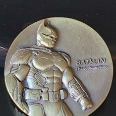 Medallas temáticas: EXCLUSIVAA MONEDA HOMENAJE A BATMAN Y JOKER!!!. Lote 194785510