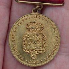 Medallas temáticas: MEDALLA PORTUGAL AÑO 1934. Lote 194929292