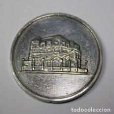 Medallas temáticas: 6,, RARISIMA MEDALLA DE PLATA DA LEMBRANZA DO ESTREO NO ANO SANTO COMPOSTELAN 1982, TEMA GALLEGO. Lote 194942343