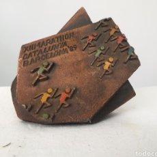 Medallas temáticas: MARATÓN DE CATALUÑA 1989. Lote 195073951