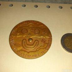 Medallas temáticas: 11 SALÓN DE LA INFANCIA MEDALLA BRONCE. Lote 195175372