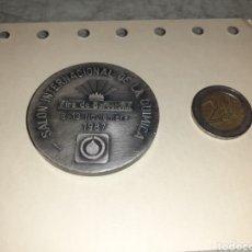 Medallas temáticas: SALÓN INTERNACIONAL DE LA QUÍMICA MEDALLA PUJOL. Lote 195175592