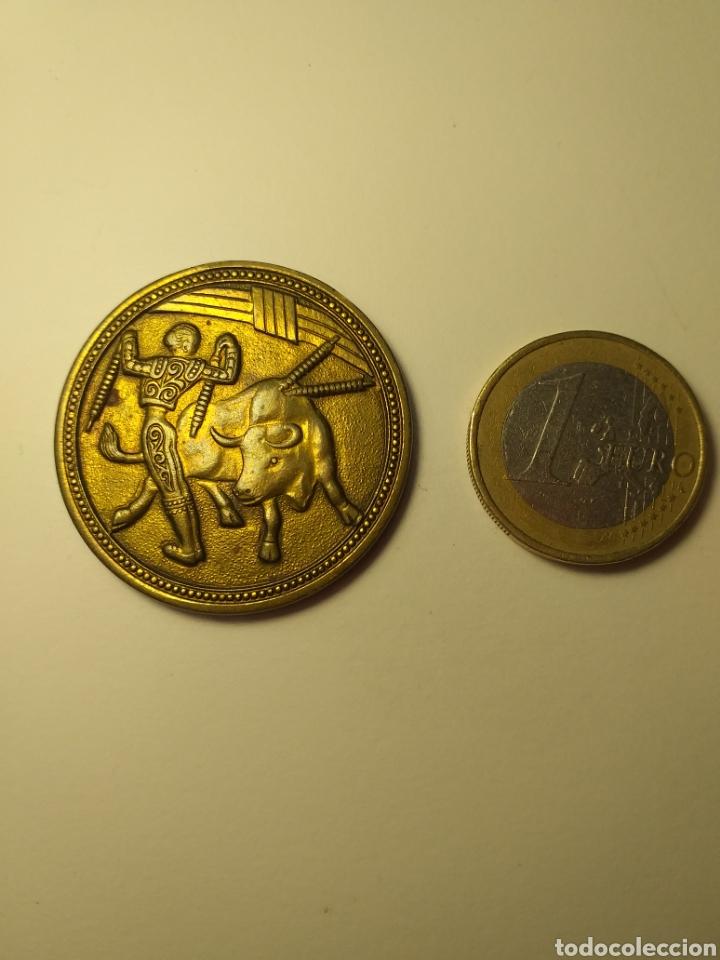 MEDALLA TAURINA TOROS TAUROMAQUIA (Numismática - Medallería - Temática)