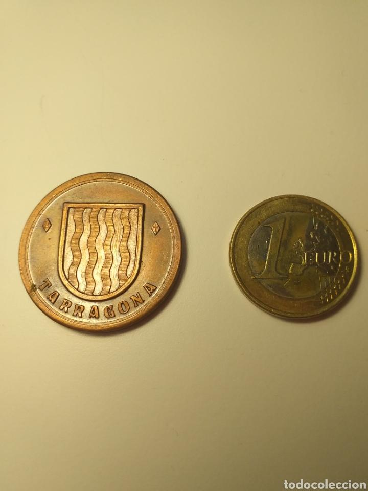 Medallas temáticas: Tarragona els escuts herlàdics dels pobles medalla manuel bassa i armengol - Foto 2 - 195347471