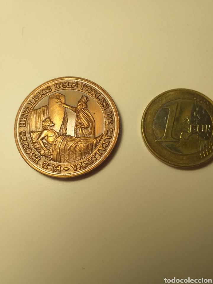 TARRAGONA ELS ESCUTS HERLÀDICS DELS POBLES MEDALLA MANUEL BASSA I ARMENGOL (Numismática - Medallería - Temática)