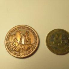 Medallas temáticas: TARRAGONA ELS ESCUTS HERLÀDICS DELS POBLES MEDALLA MANUEL BASSA I ARMENGOL. Lote 195347471